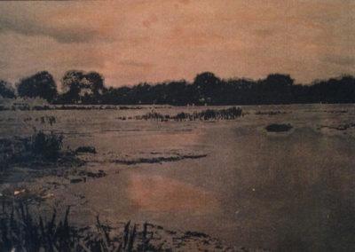 zonsondergang 17x23